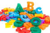 Multicolored letters — Stock Photo