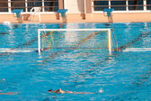 Water polo goal — Photo