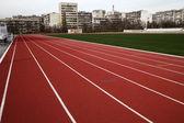 беговая дорожка — Стоковое фото