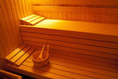 Sauna room — Stock Photo