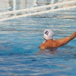Water polo player in action — Stock Photo #44140153