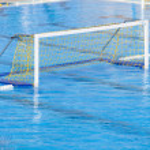 Water polo goal — Stock Photo #44349521