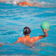Water polo player in action — Stock Photo #46221471