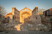 Old Byzantine church in Nessebar, Bulgaria. UNESCO  — Stock Photo