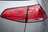 Closeup of a taillight on a modern car — Stock Photo