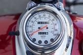 Speedometer motorcycle bike — Stock Photo