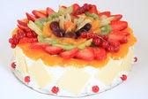Bolo de frutas — Foto Stock