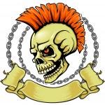 ������, ������: Punk skull