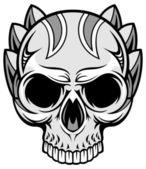 Crânio cinzento 69 — Vetorial Stock