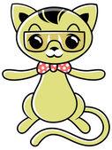 Cartoon cat 06 — Stock Vector