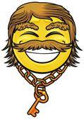 Pirate smiley 07 — Stock Vector