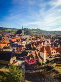 捷克共和国。山. — 图库照片