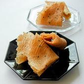 Thai dessert called thongpab — Stock Photo