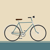 Vintage bike — Vector de stock