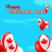 Canada Day background — Stock Vector