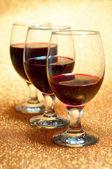 Wine and wine glasses — Stock Photo