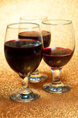 Wine and wine glass — Stock Photo