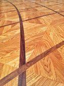 寄木細工の床の装飾 — ストック写真