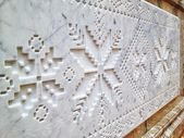 Marble decoration — Stockfoto