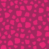 Pink red Seamless Pattern with Strawberries — Stockvektor