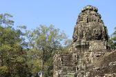 Tempio di bayon, cambogia — Foto Stock