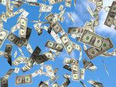 Dolarové bankovky — Stock fotografie