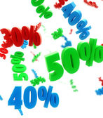 Percent sale — Stock Photo