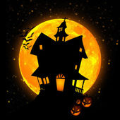 Halloween Castle — Stock Photo