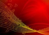 Music notes design — Stock Photo