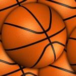 Постер, плакат: Basketballs