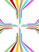 Frecce colorate — Foto Stock