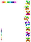 Impressão de borboleta — Foto Stock