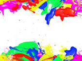 Paint strokes,with free copy space — Stock Photo