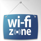 Wi-fi Zone — Stock Photo