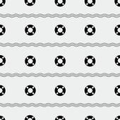 Lifebuoy pattern — Stockvector