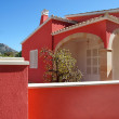 Red house in Peguera — Stock Photo #40360367
