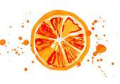 Segment of the orange — Stock Photo