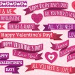 A set of valentine's design, vector — Stock Vector #40018661