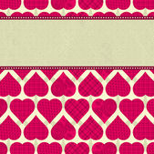 Valentine background, vector — Vettoriale Stock