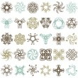 Stock Vector: Many decorative elements, vector