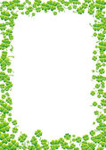 Green background for St. Patrick's Day — Stockvektor