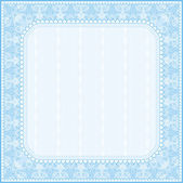 Square certificate background, vector — Stock Vector