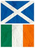 Scotland and Ireland flag — Stock Vector