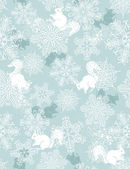 Background with christmas elements, vector — Stock Vector