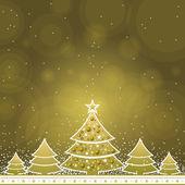 Julkort, vektor — Stockvektor