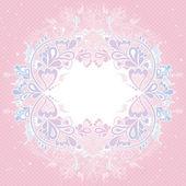 современные розовый фон, векторные иллюстрации — Cтоковый вектор