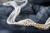 Necklace of pearls — Stock Photo