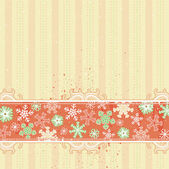 Beige christmas background, vector — Stock Vector