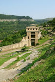 Part of fortress Carevec in Veliko Tarnovo, Bulgaria — Stock Photo