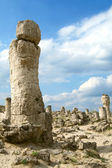 The Pobiti Kamani Natural Phenomenon, Bulgaria — Stock Photo